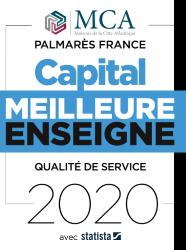 Maisons MCA, meilleure enseigne 2020 par Capital