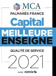 Maisons MCA, meilleure enseigne 2021 par Capital