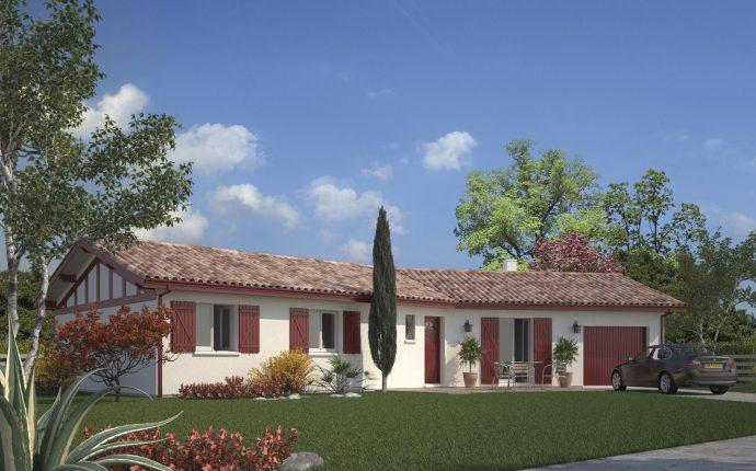 La maison Garoa| 69 à 107 m² | 2 ou 3 chambres
