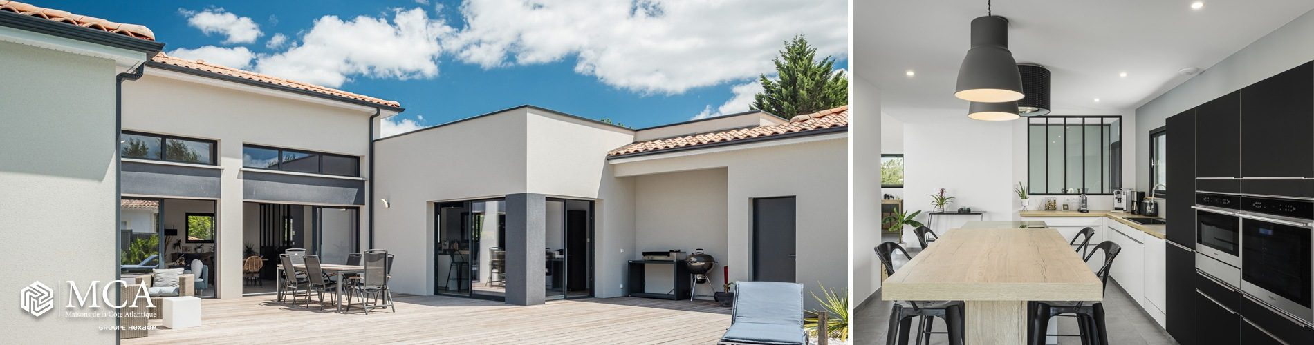Grande maison contemporaine Gironde