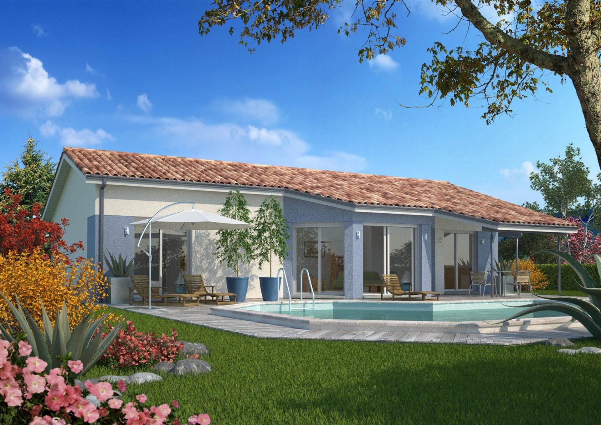 La maison Haritza   107 m²   3 chambres