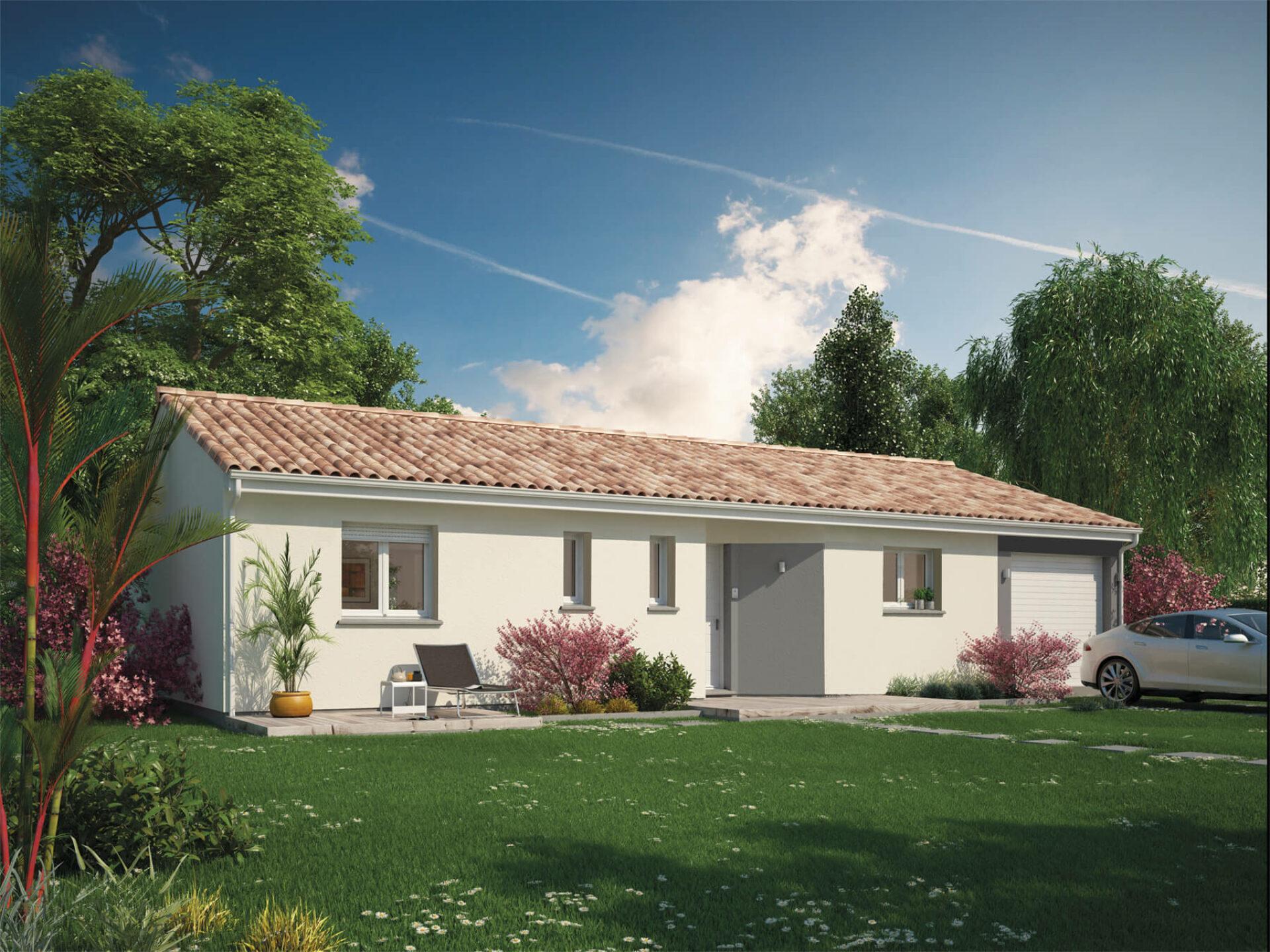 Maison Optima | de 65 à 90 m² | 2 ou 3 chambres
