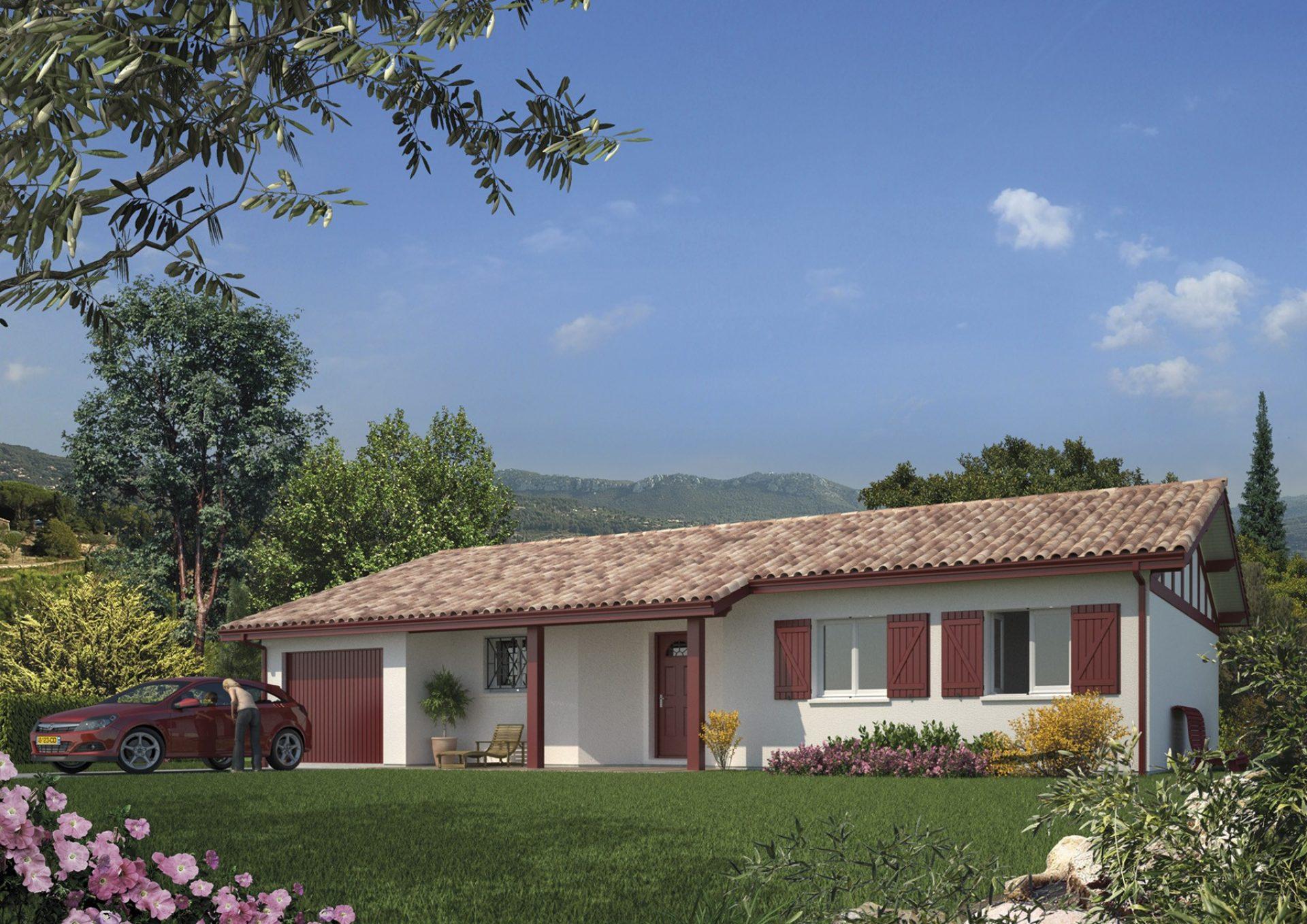 La maison Argia   101m²   3 chambres
