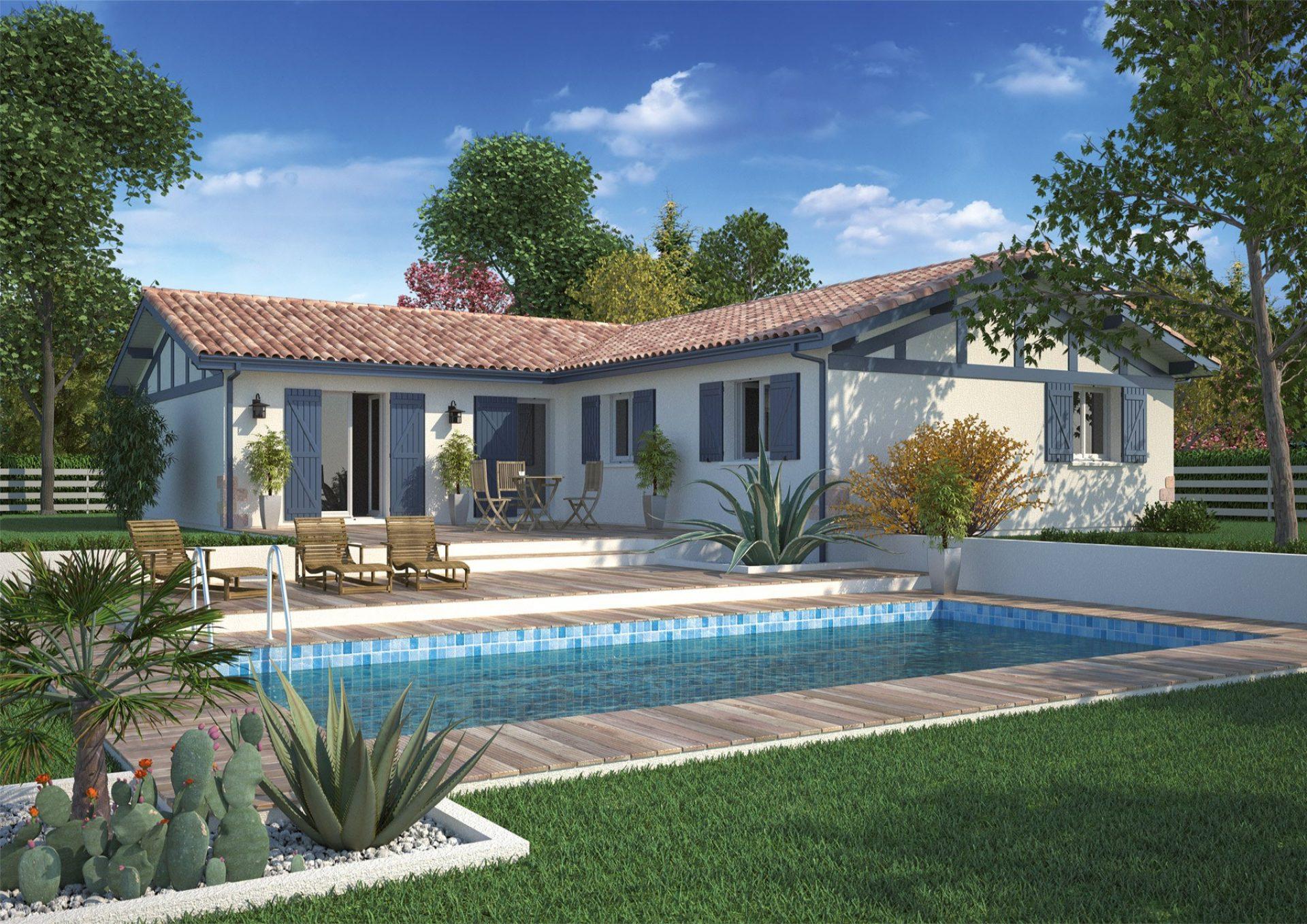 La maison Atenea | 100 à 125 m² | 3 à 4 chambres