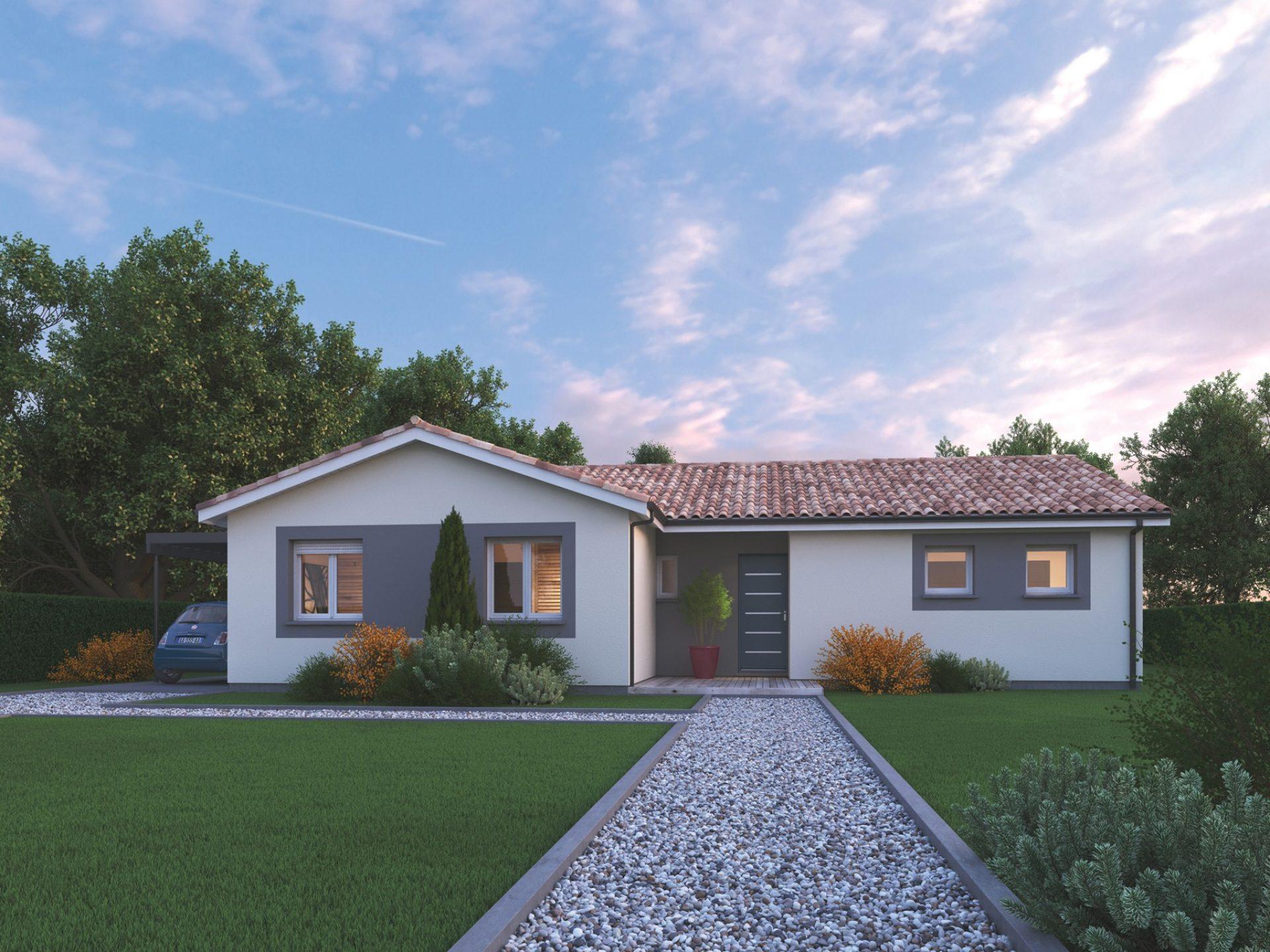 La maison Lumière | 107 m² | 3 chambres