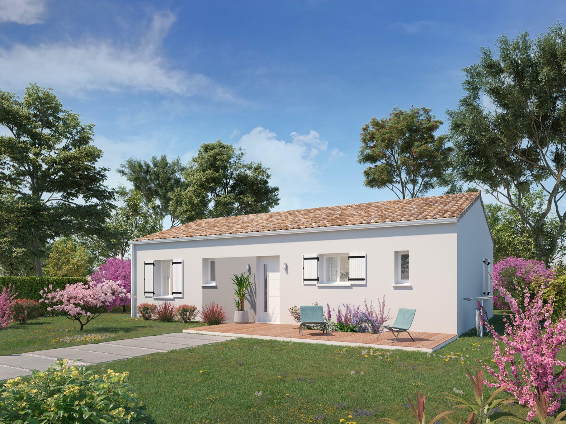 La maison Desirée | 80 m² | 3 chambres
