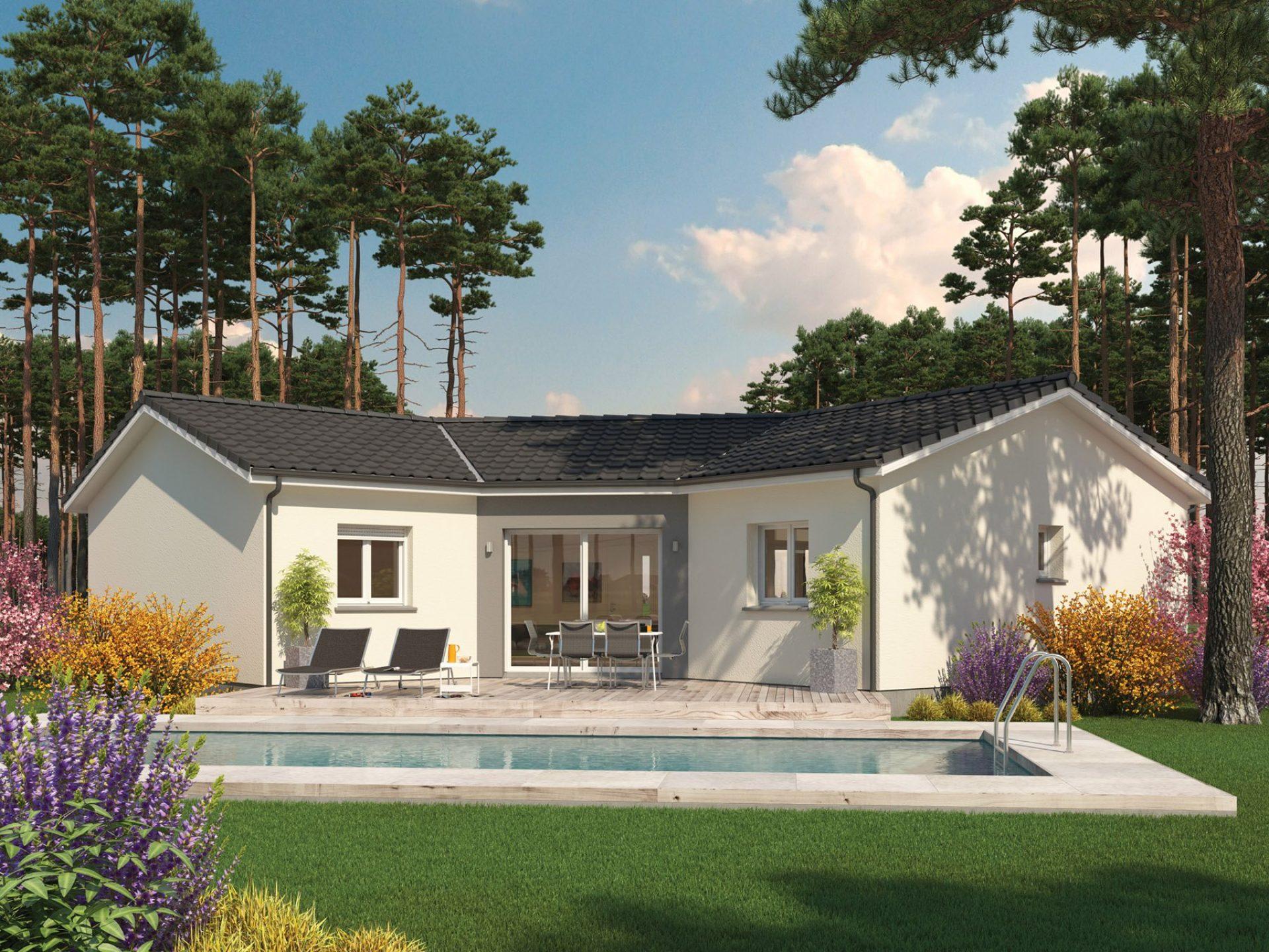 La maison Lotus | 99 m² | 3 chambres