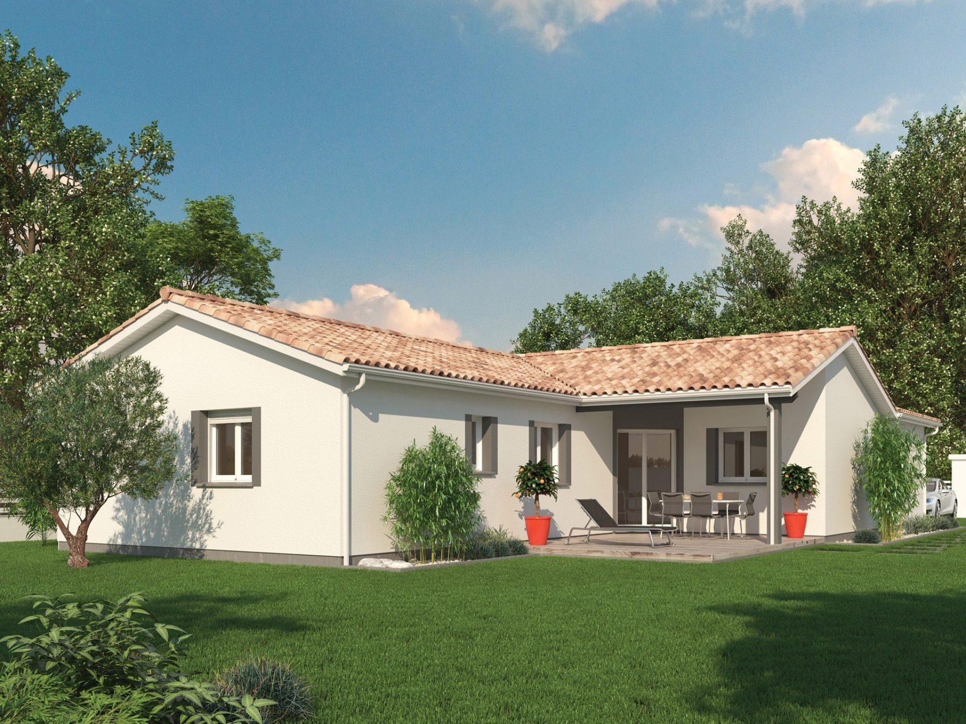 La maison Sweet | 91 à 99 m² | 3 chambres