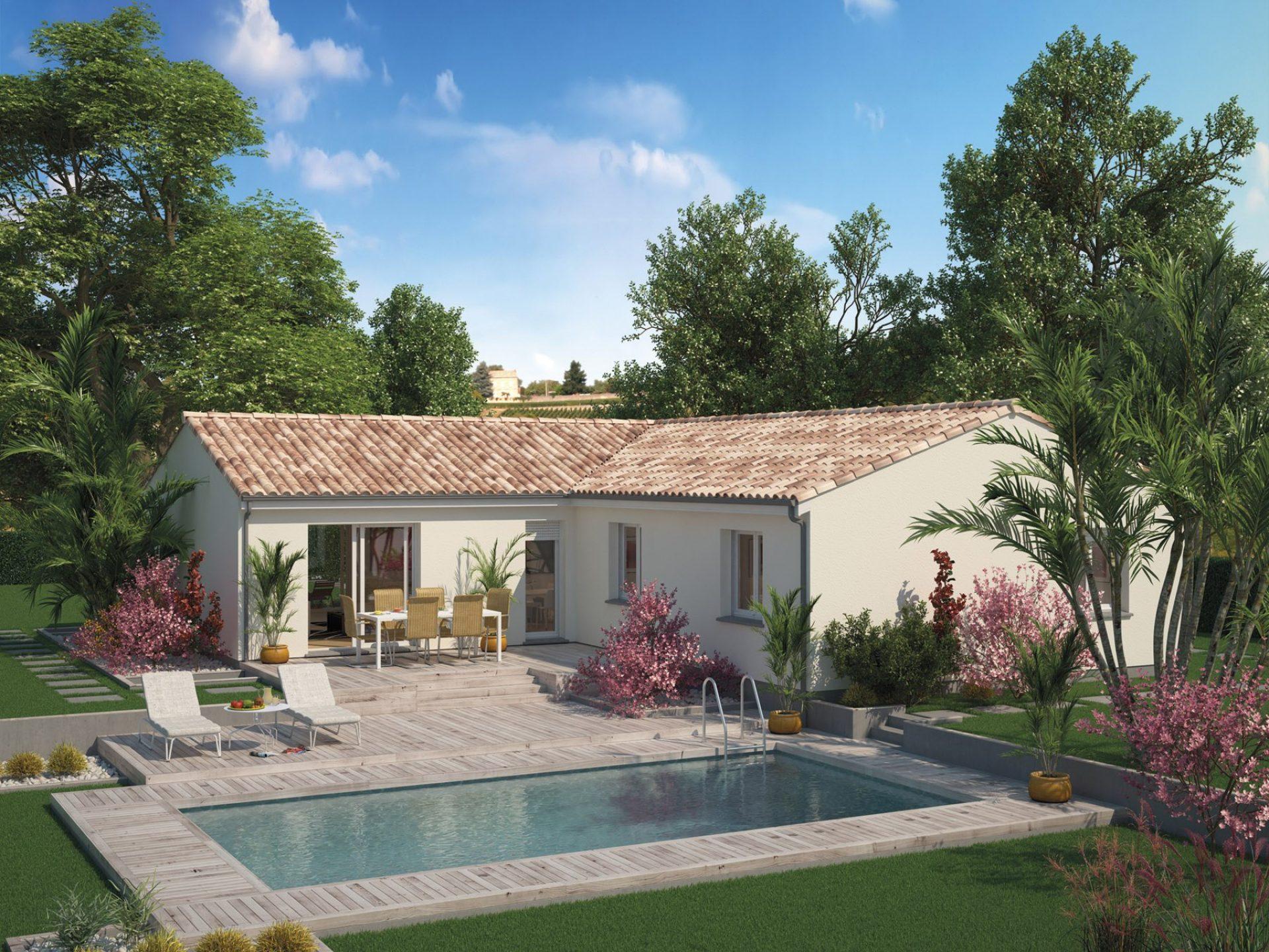 La maison Aunis | 100 à 125 m² | 3 à 4 chambres
