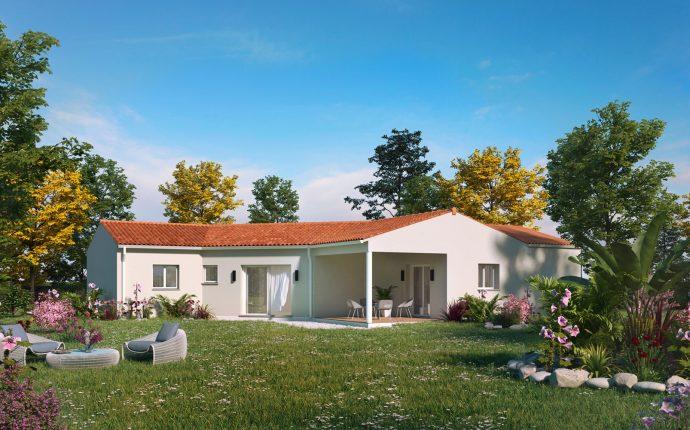 La maison charentaise Cognac | 114 m² | 3 chambres