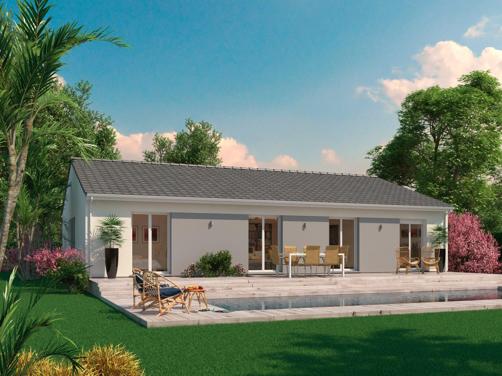 La maison Aurore   84 à 128 m²   3 ou 4 chambres