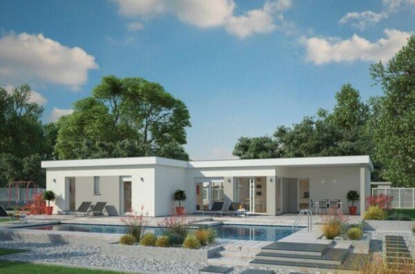 Construire une maison toit plat