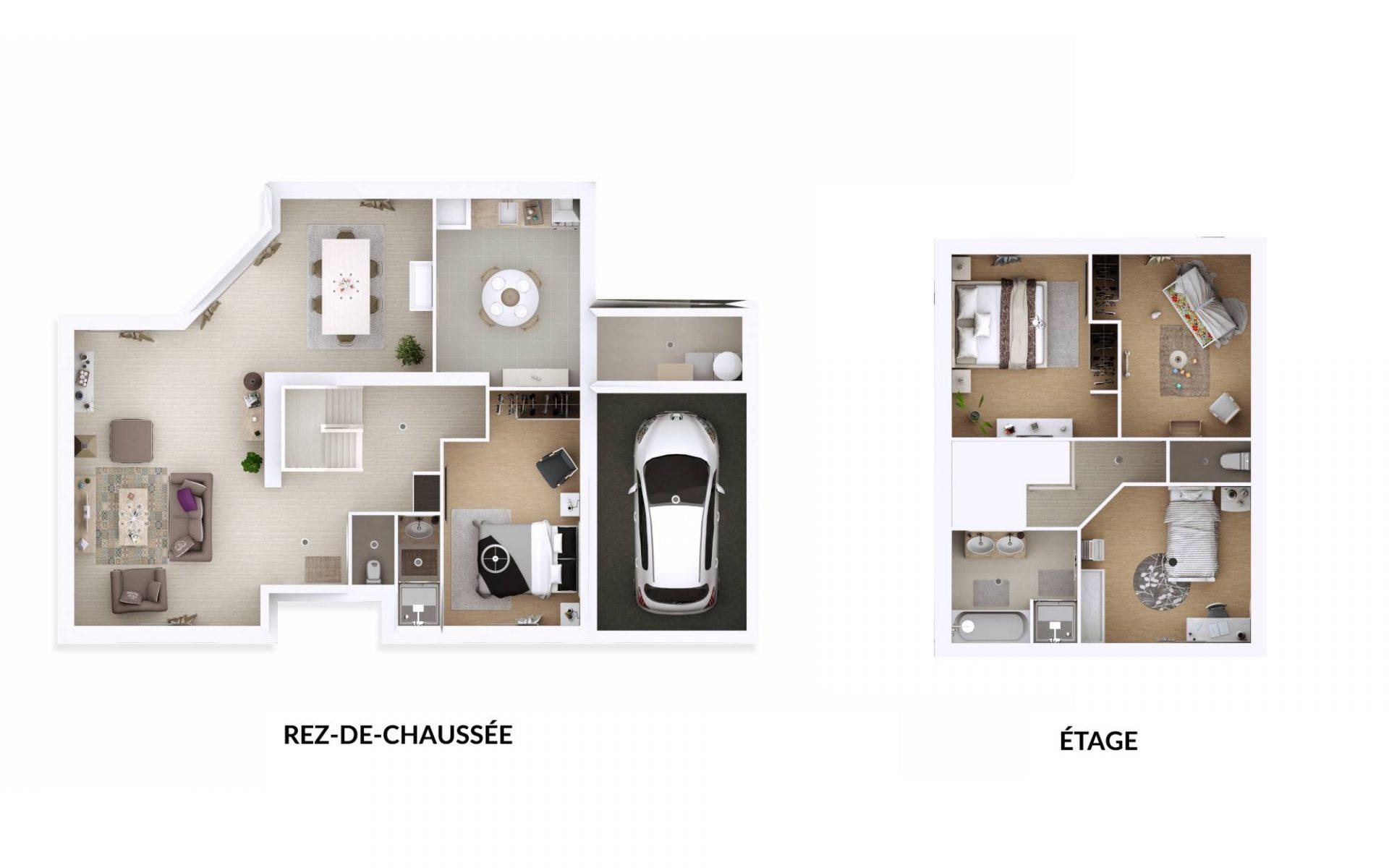 Plan3D Arpege | 130 m²