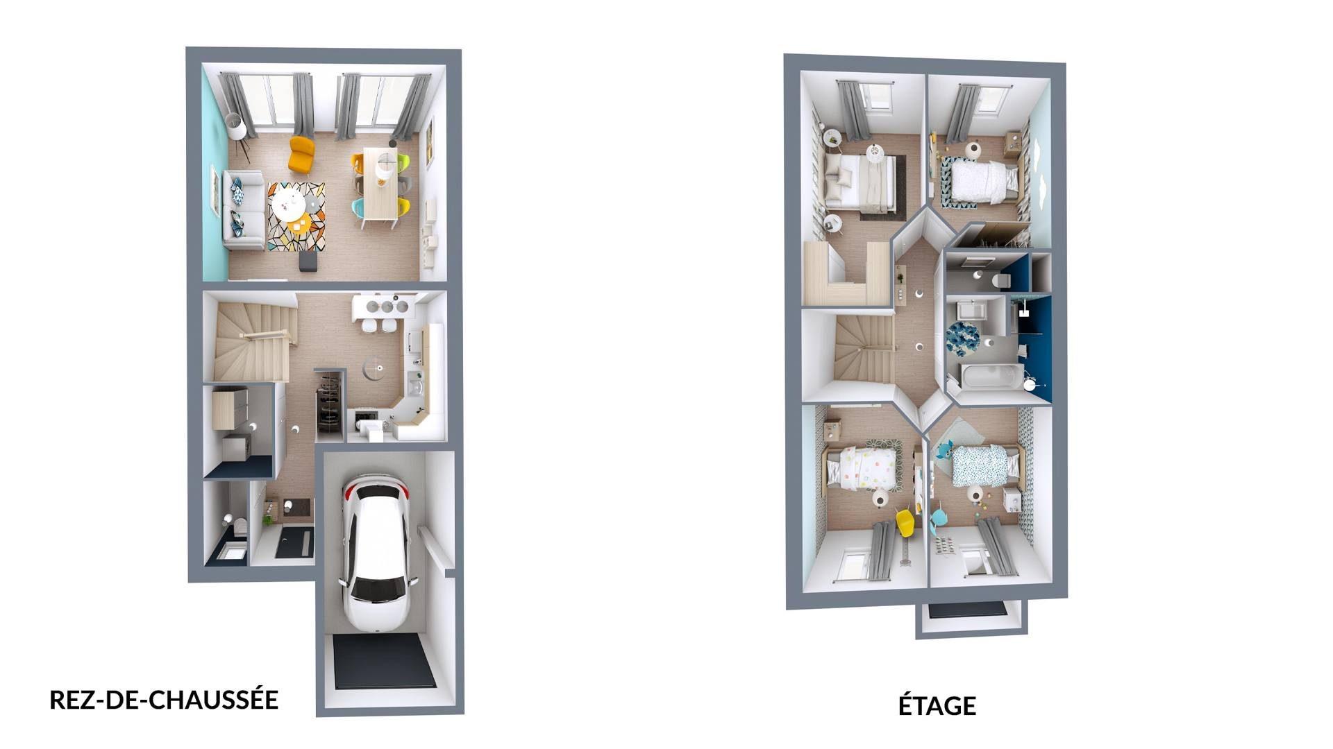Plan 3D urbis | 102 m²
