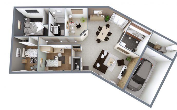 Plan 3D Garonne