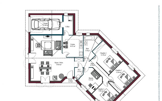 Plan Florintxa | 113 m²
