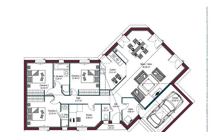 Plan Florintxa | 115 m²