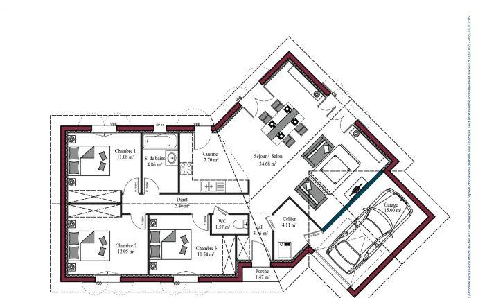 Plan Florintxa | 95 m²