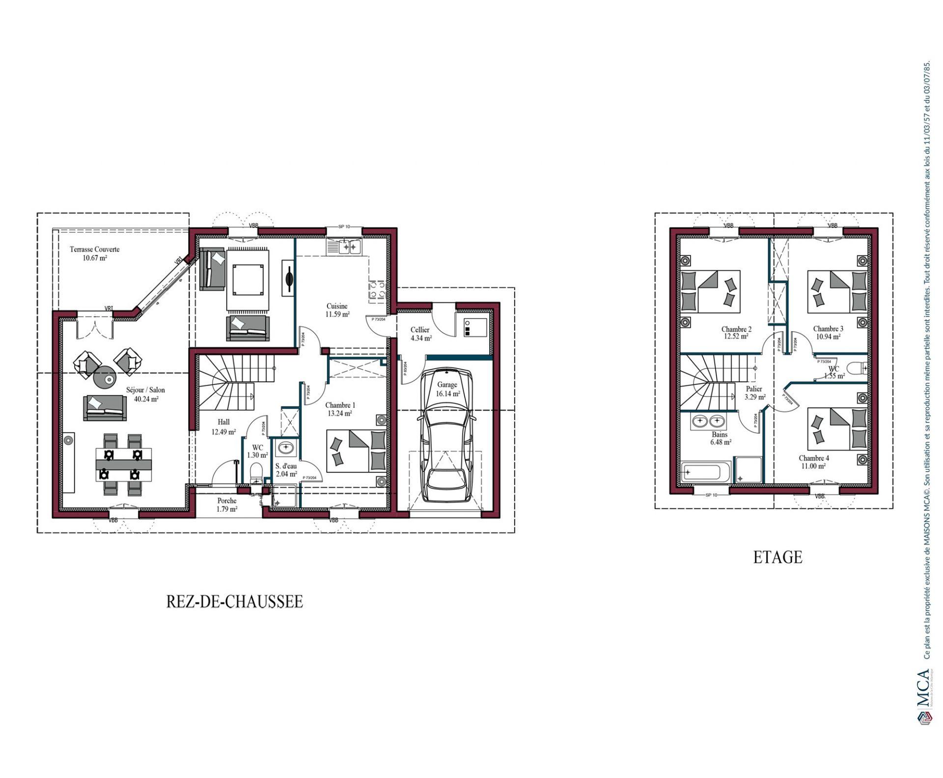 Plan Ainara | 131 m²