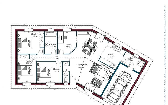 Plan Garoa | 100 m²