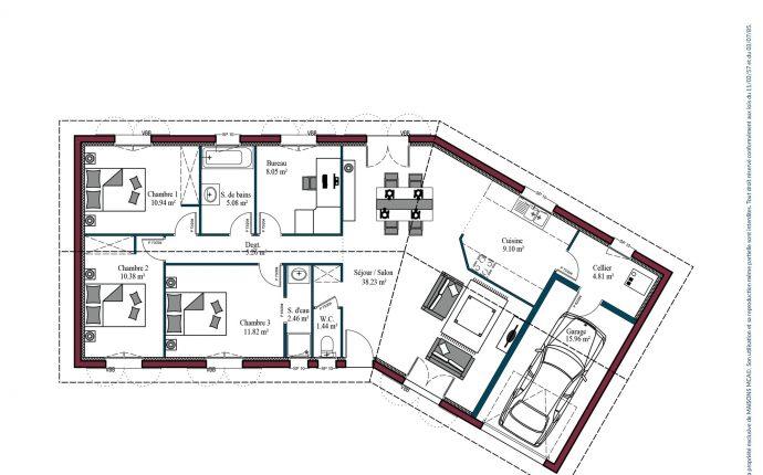 Plan Garoa | 107 m²