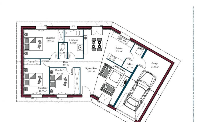 Plan Garoa | 80 m²
