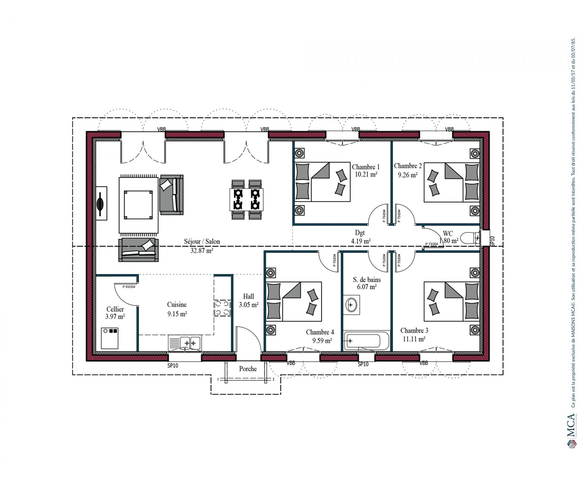 Plan Izarra | 101 m²