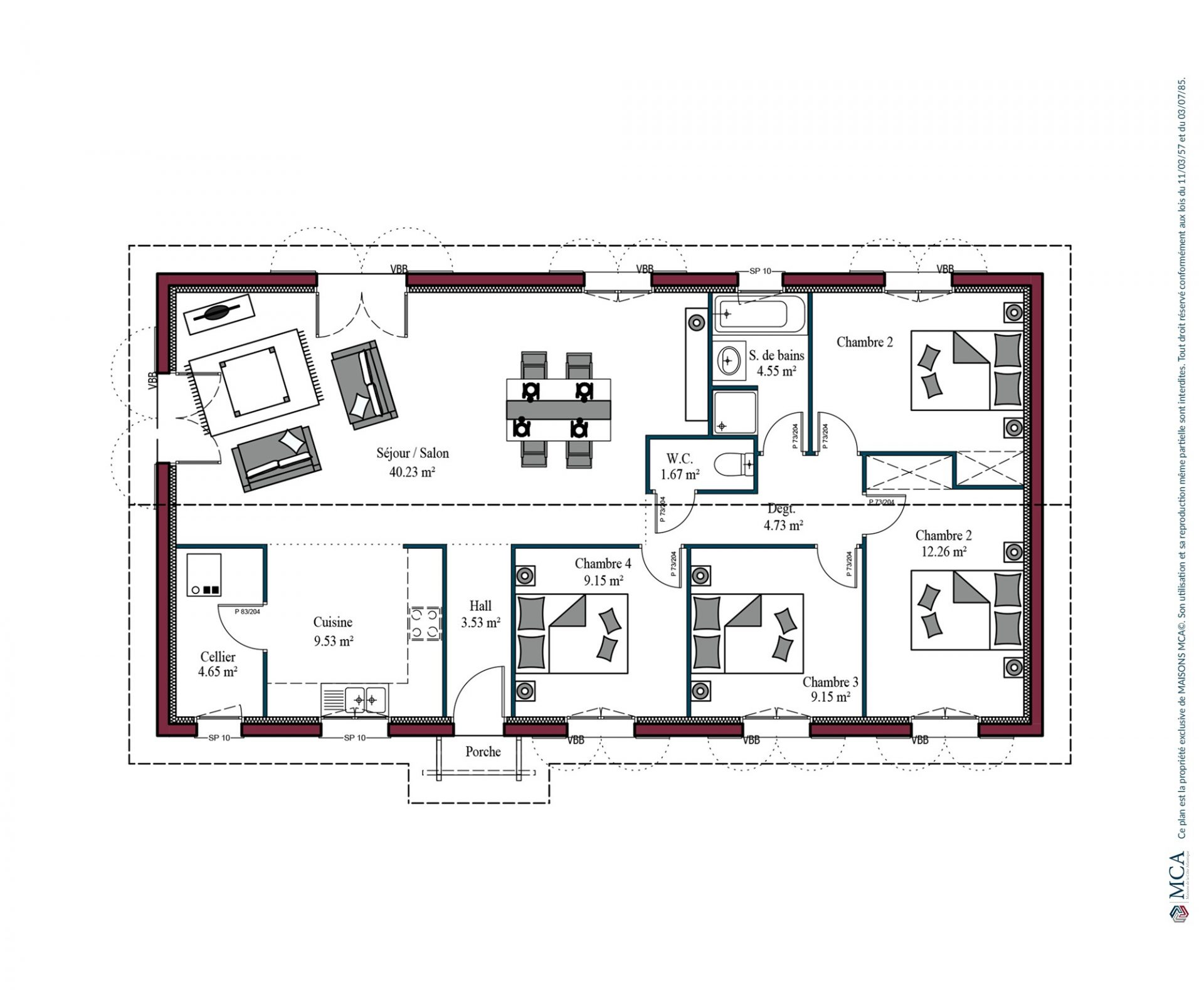 Plan Izarra | 110 m²
