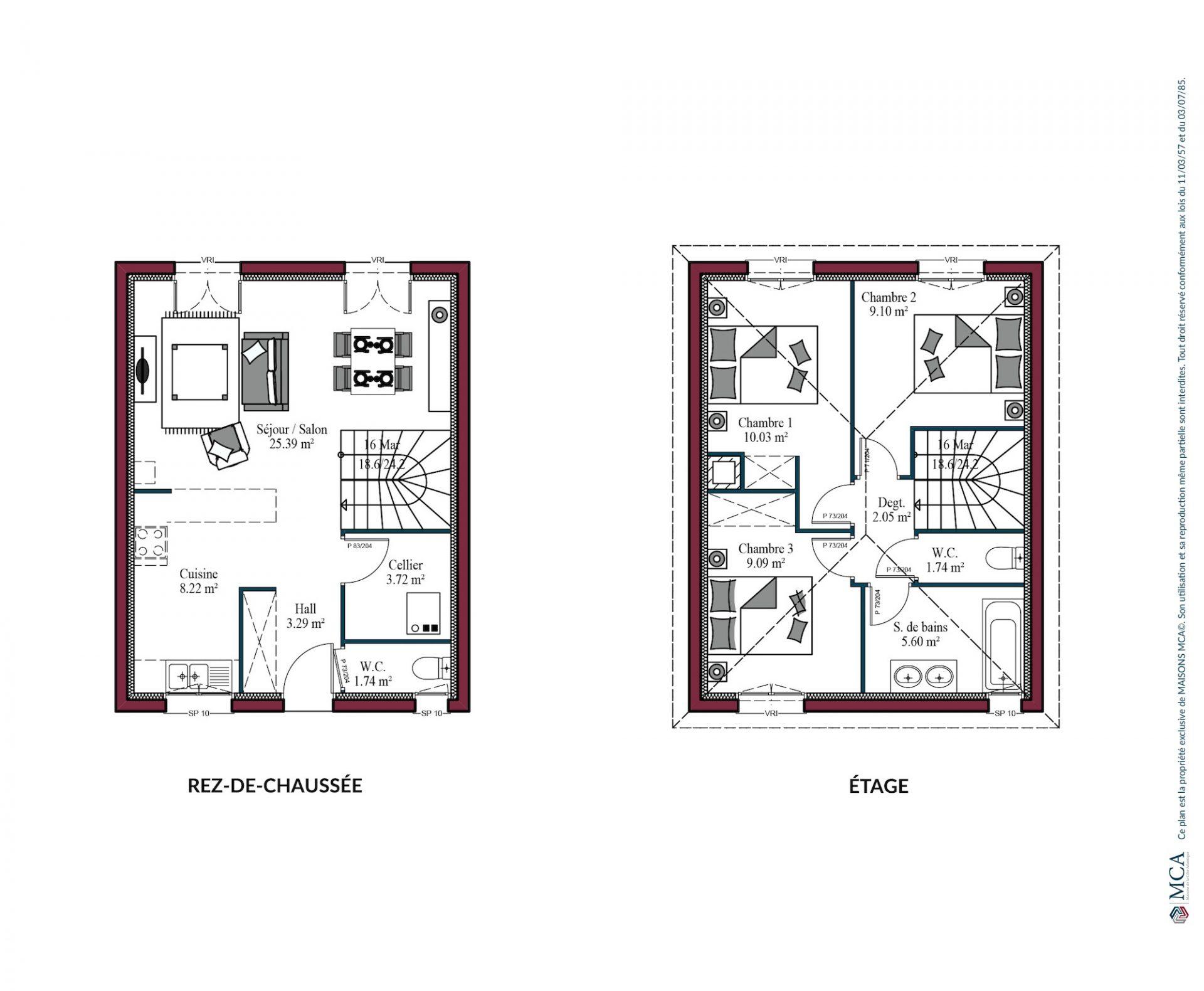 Plan City | 80 m²