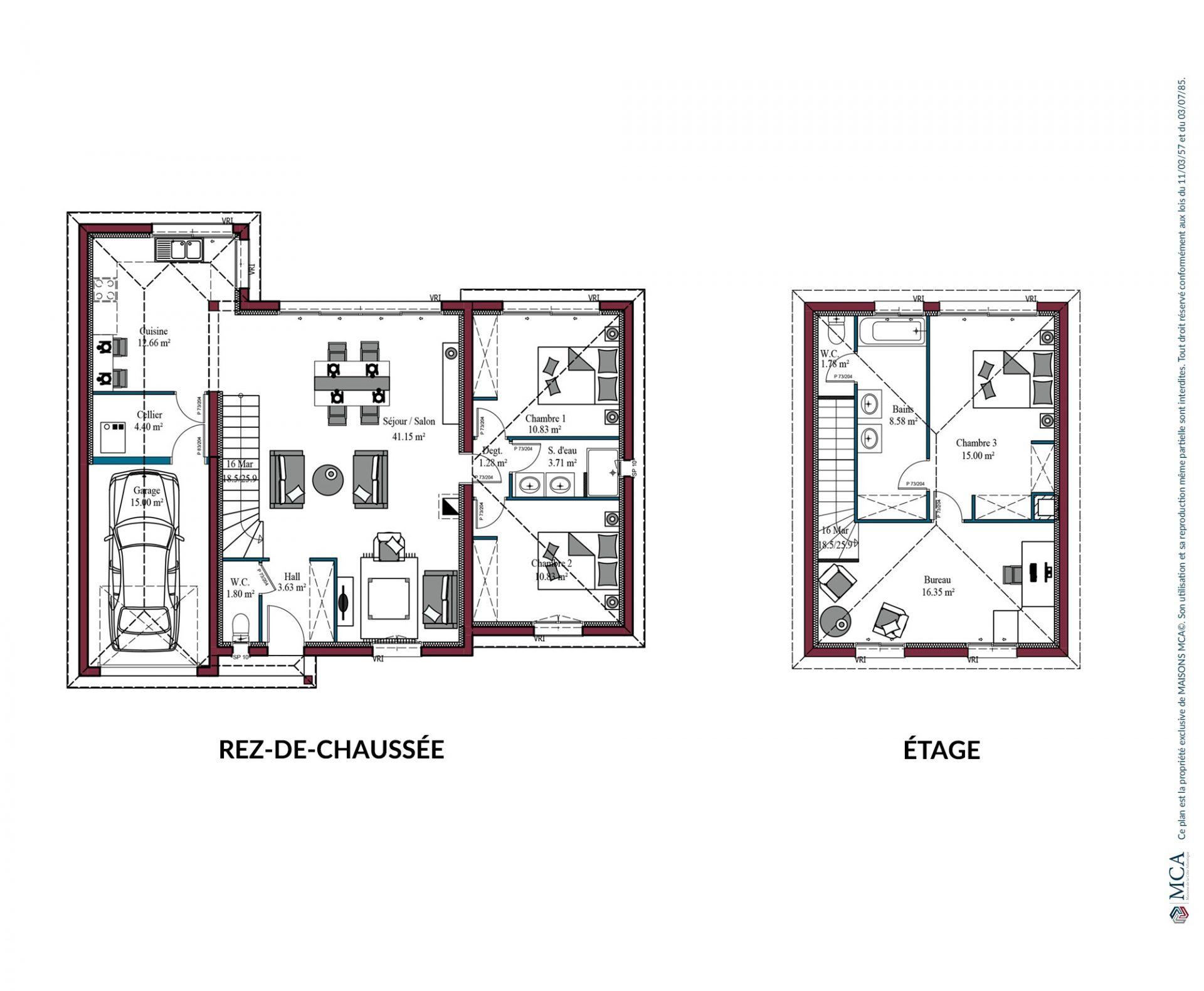 Plan Design | 132 m²