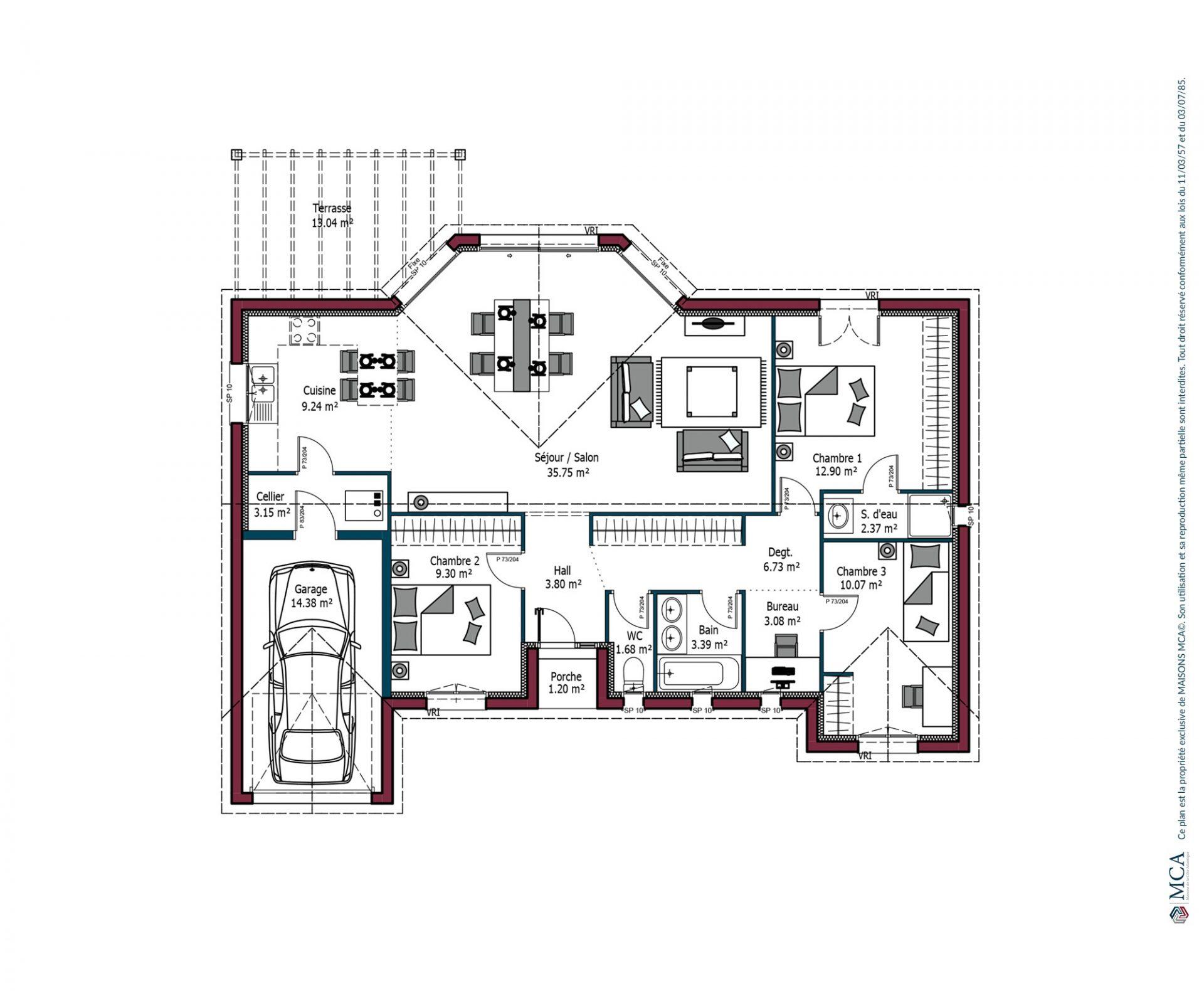 Plan EOS | 101 m²