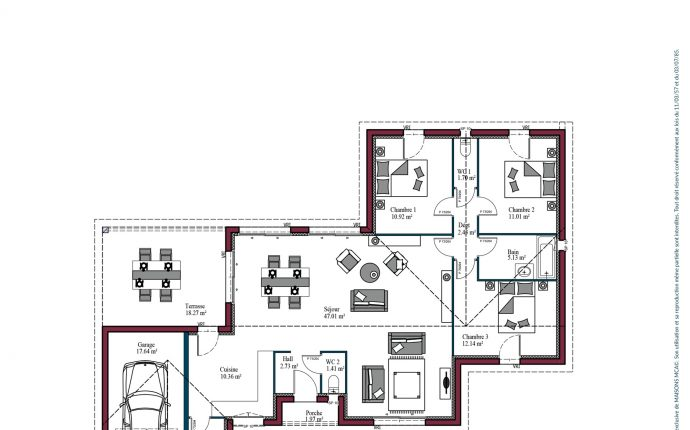 Plan Evolution | 108 m2
