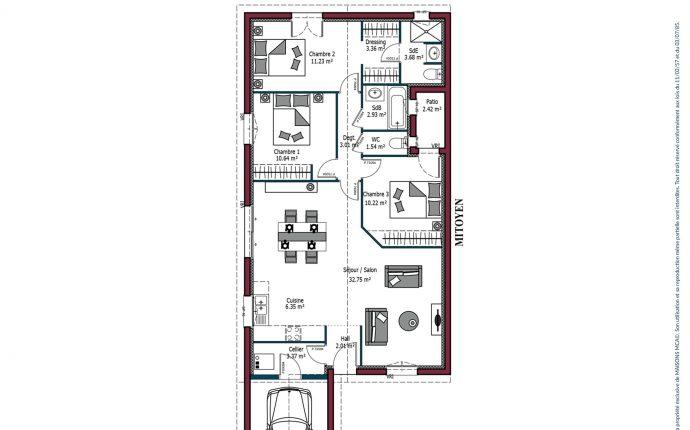 Plan Sweet | 91 m²