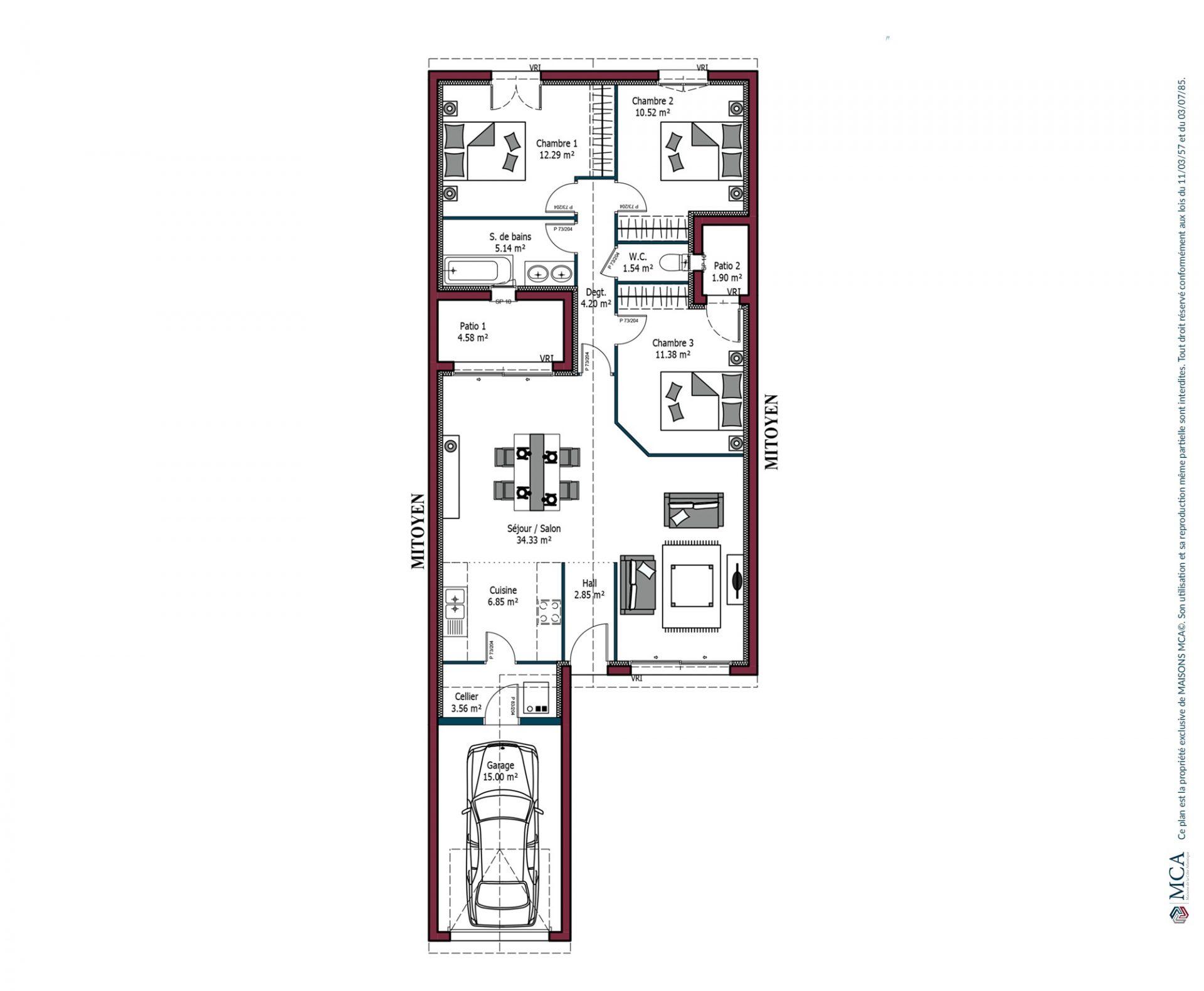 Plan Sweet | 92 m²