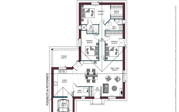Plan Sweet | 99 m²