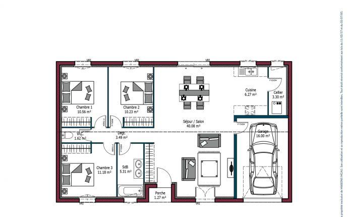 Plan Jeune Budget | 92 m²