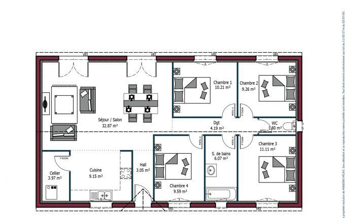 Plan Paradis | 101 m²