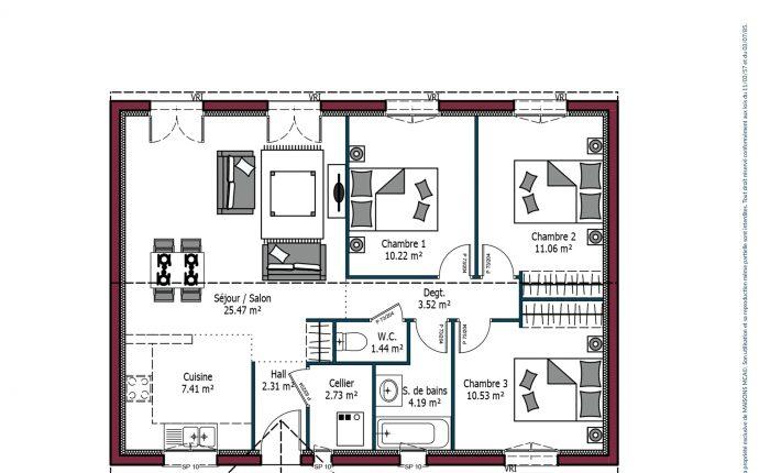 Plan Paradis | 78 m²