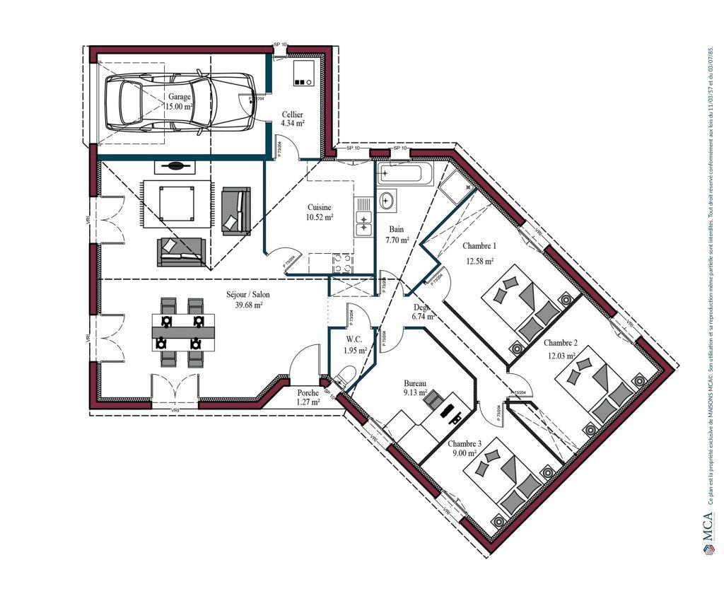 Faire Les Plans De Sa Maison De Plain Pied Maisons Mca