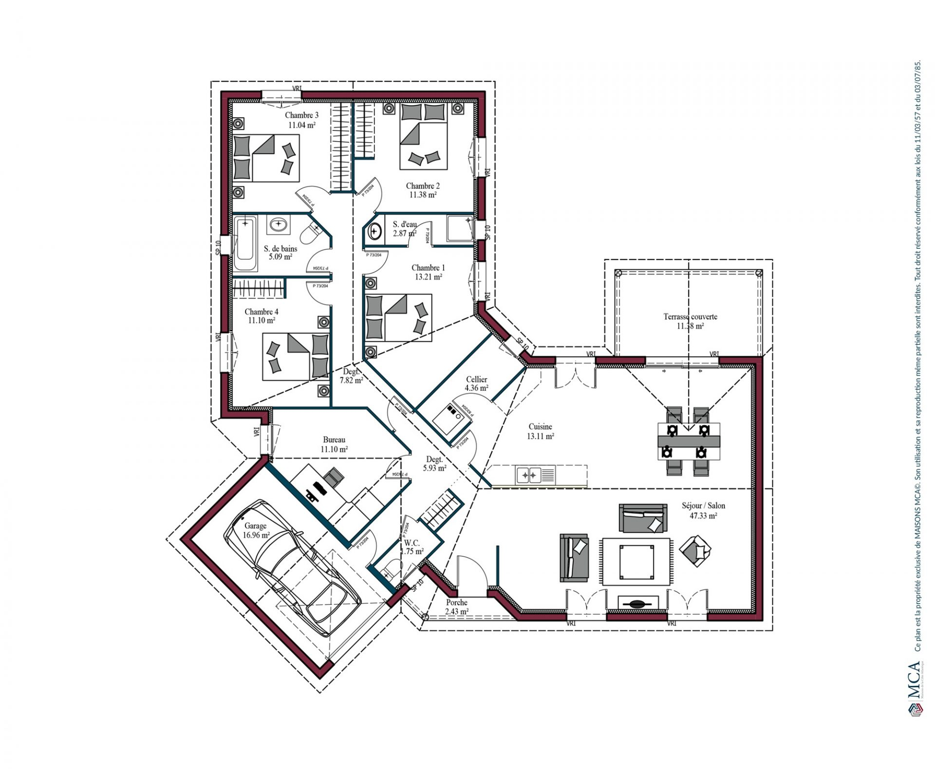 Plan Plaisir Sud | 145 m²