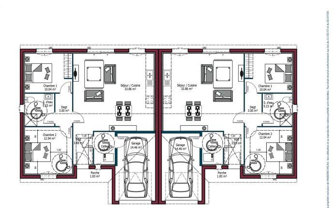 Plan Omega Investisseur | 71 m²