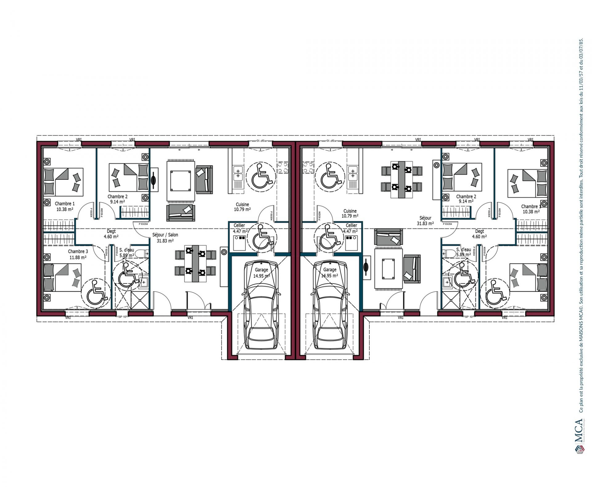 Plan Omega Investisseur | 89 m²
