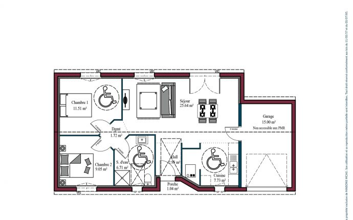 Plan Optima investisseur | 65 m²