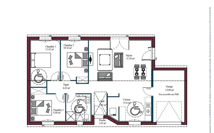 Plan Optima investisseur | 85 m²