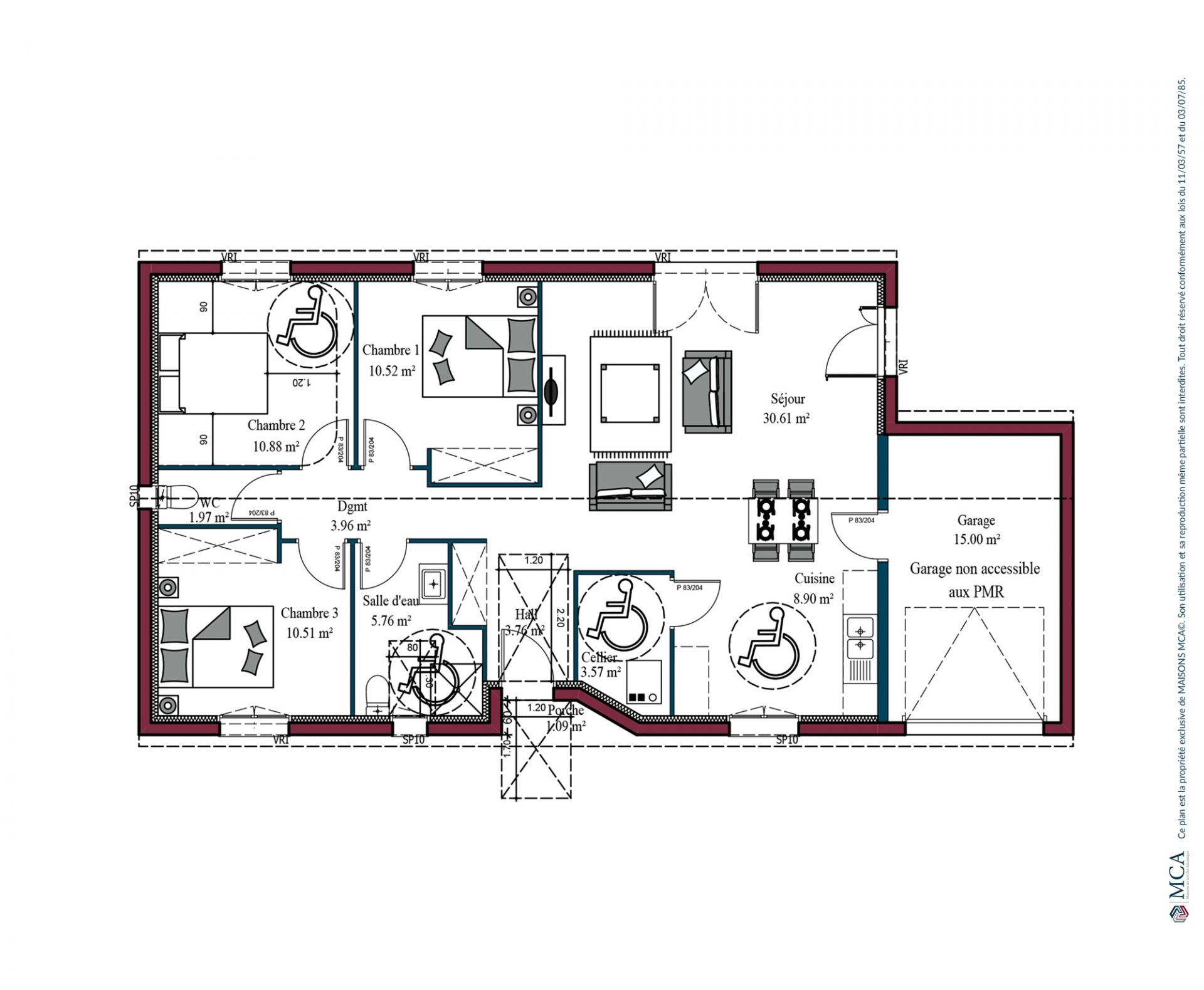 Plan Optima investisseur | 90 m²