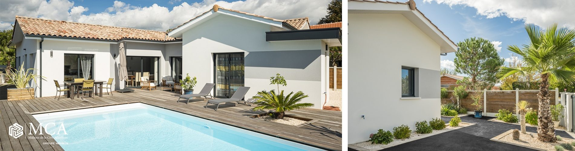 Villa avec piscine à Andernos