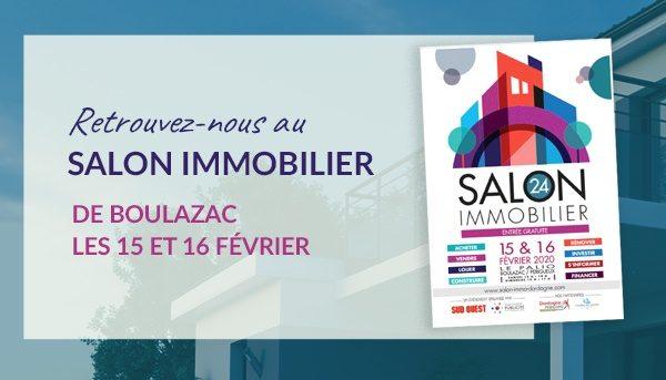 Salon de l'immobilier Boulazac