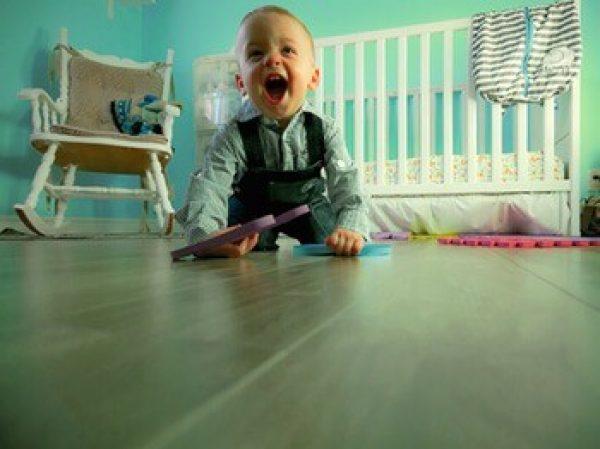 Choisir le sol d'une chambre enfant après la construction ou l'achat d'une maison