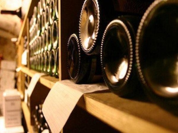 Idée rangement bouteilles de vin