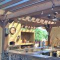 Installation d'une cuisine extérieure